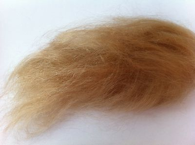 Mohair for rooting reborn baby BLONDE 0.5oz (BLONDE NP)