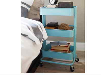 IKEA Raskog kitchen trolley kitchen island, turquoise, Storage, Bathroom