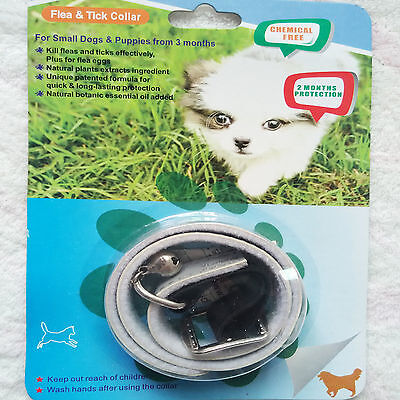 """Flea & Tick Collar 2 Month Protection for Cat Small & Medium Dog Up to 45CM/17"""""""