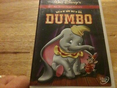 Dumbo (DVD, 2001, 60th Anniversary Edition) Disney