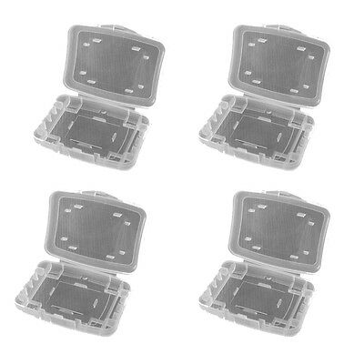 4 x 6 Way Plastic Memory Card Case - SD XD CF (Compact Flash)