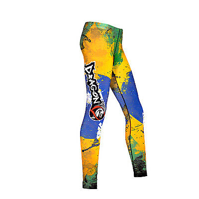 Compression MMA Grappling Pants Fight UFC Combat Women Sports Tights Gym