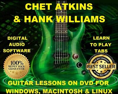 Play like Chet Atkins The Ultimate Guitar Lesson Book with Online Au 000121952