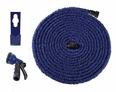 Ohuhu Super Strong Expandable Garden Water Hose 25 50 75 100 Ft  w Spray Nozzle