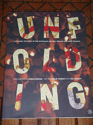 Unfolding by Ainslie Yardley-the Story of the Australian and New Zealand AIDS qu