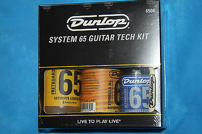 Dunlop System 65 Guitar Tech Kit, 6504