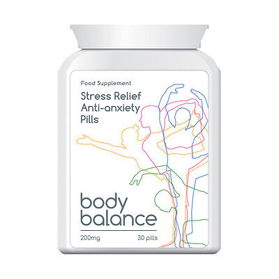 Body Balance Stress Relief Anti Anxiety Pill Proven Feel Great Relaxed Positive