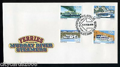 1979 AUSTRALIA  Ferries & Murrary River Steamers  FDC