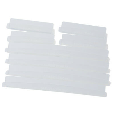 8 Car Door Edge Guards Trim Molding Protection Strip Scratch Protector Clear WS