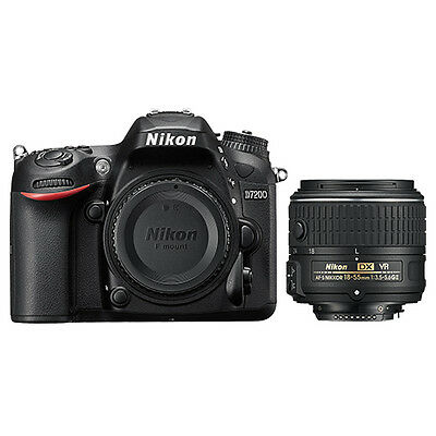 Nikon D7200 Digital SLR Camera + AF-P DX NIKKOR 18-55mm f/3.5-5.6G Lens