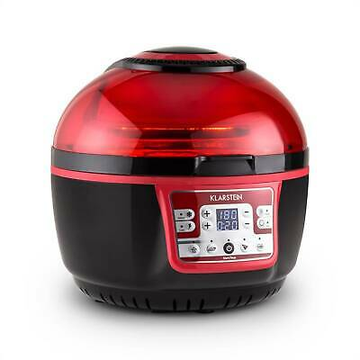 FRITEUSE A AIR CHAUD 9L KLARSTEIN VitAir Turbo CUISSON GRILL ROUGE & NOIRE 1400W