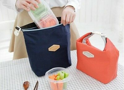 Thermal Cooler Insulated portable waterproof lunch box picnic food bag pouch