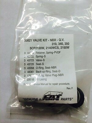 5CP2120W 5CP2140WCS Pressure Parts 30821 Valve Kit for Cat Pumps 310,340,350 5CP2150W
