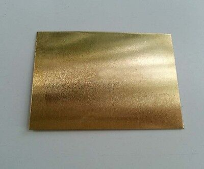 Brass Metal Sheet Plate 2.5mm x 100mm x 100mm