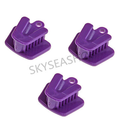 3 PCS Dental Silicone Mouth Prop Bite Block Rubber Opener Retractor Small Size