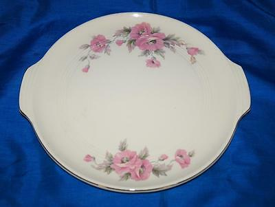 Floral Cake Plate from Knowles Utility Ware 42-5