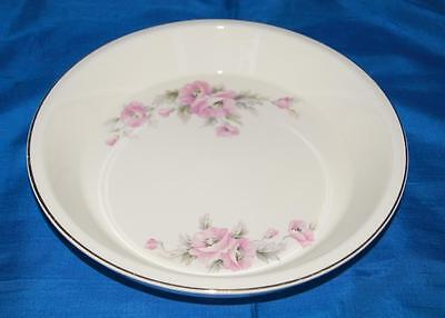 Knowles 10 Inch Pie Plate Floral Pattern 42-2