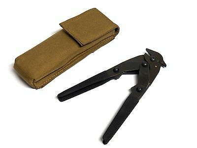 KZ USA Military Concertina Chain Link Wire Cutter + Botach Tactical MOLLE Pouch