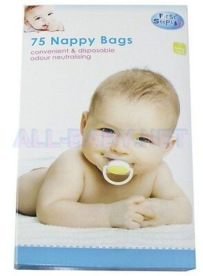 **NEW** Scented Nappy Bags (Pk of 75)