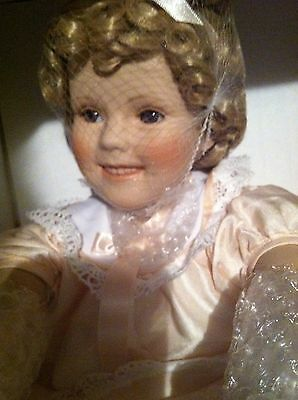 Shirley Temple (Danbury Mint) Toddler Doll-Never Removed From Box