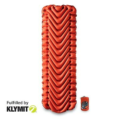 KLYMIT Static V INSULATED Sleeping Pad Lightweight Camping Pad - BRAND NEW