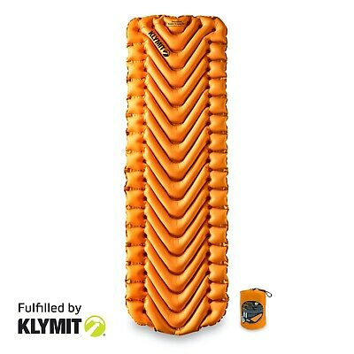 KLYMIT Insulated Static V LITE Sleeping Pad Lightweight Camping - BRAND NEW