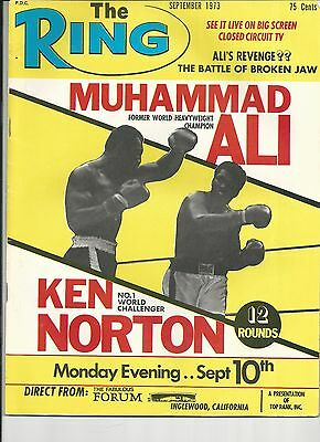 """The Ring """"Ali on Cover"""" 1973 **NICE**"""