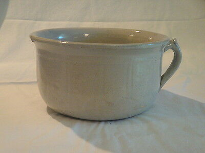 Vintage Stoneware Chamber Pot Bedroom/bathroom Item