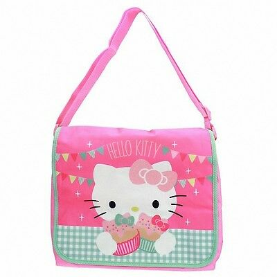 😊  HELLO KITTY TEA PARTY Umhängetasche mit Glitzer Messengerbag