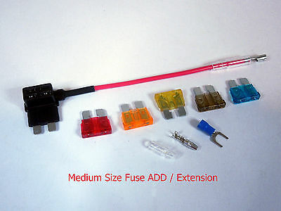 FUSE Medium Size Fuse Block Extension ADD-Extension FUSE TAP Lead Cord