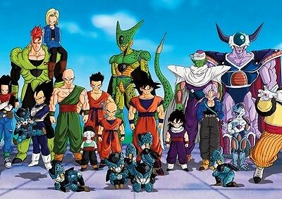Dragon Ball Z Personnages #3 Affiche