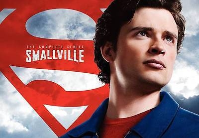 Smallville - The Complete Series DVD (2011) 62-Disc Set * Brand New * Superman