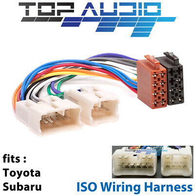 Toyota Hilux 1989+ ISO WIRING HARNESS stereo radio plug lead wire loom connector