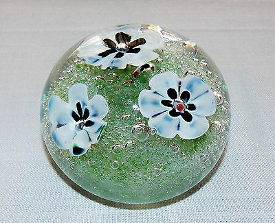 """Murano Paperweight Large Lampwork 3"""" Unsigned Beauty"""