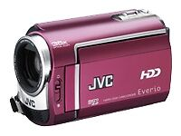 JVC Everio GZ-MG330 30 GB Camcorder - Red