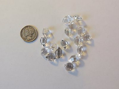Herkimer Diamonds (10g) B-B+ grade 11-11.5mm from Middleville, NY  (8784)
