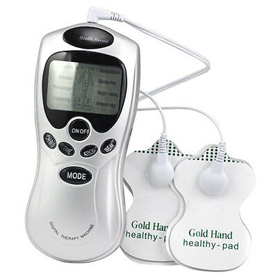 Tens Machine Digital Therapy Full Body Massager Pain Relief acupuncture Back