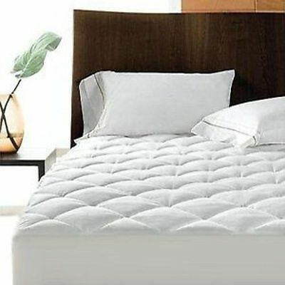 Extra Deep Non Allergenic Quilted Mattress Protector Mattress Fitted Cover