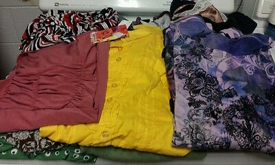 Wholesale Resale 15 Piece Womens Mixed Lot XL to 3 XL Excellent Condition!