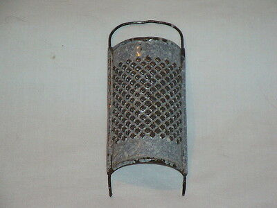 Antique Graniteware Salesman Sample Grater Kitchen Utensil
