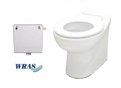 Nursery Junior Kids WC Back To Wall Short Projection Toilet Concealed Cistern