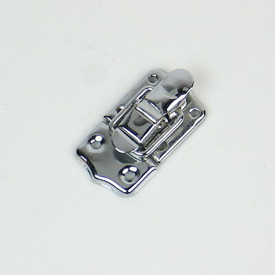 Small Drawbolt Closure Latch for Guitar Case /musical cases ,45mm 6431 Chrome