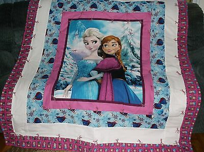 Frozen Sisters, Elsa and Anna ,finished quilt, warm and Cute!!!