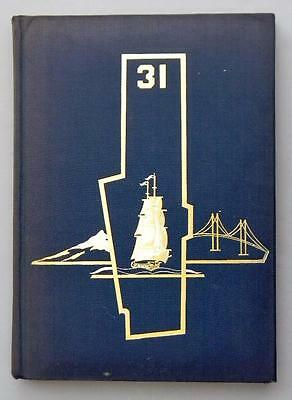 """USS Bon Homme Richard CV-31 1957 Cruise Book """"To WESTPAC and BACK"""""""