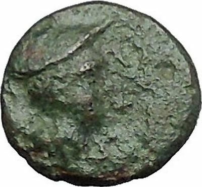 Lysimacheia in Thrace 309BC Rare Ancient Greek Coin Hermes Mercury  i49722