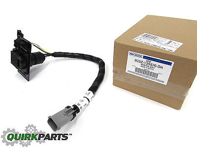 2002-2004 Ford F250 F350 Super Duty 4 & 7 Pin Trailer Tow Wire Harness OEM NEW