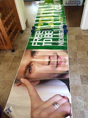 """HUGE CW """"One Tree Hill"""" Promo Poster - limited edition!"""