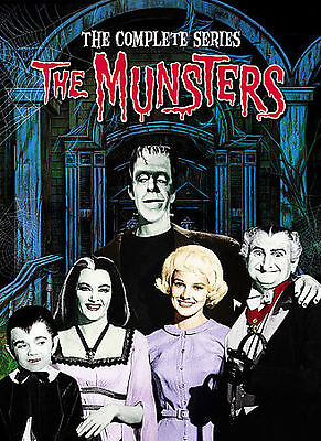 The Munsters - The Complete Series 12-Disc DVD (2008) * Brand New *