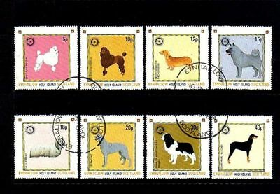 Scotland - 1984 - Dogs - Hound - Terrier +++ Set Of 8!