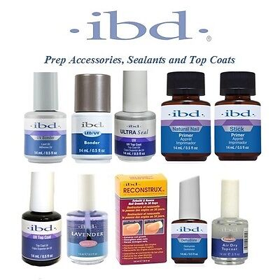 IBD - Prep Accessories, Sealants and Top Coats - Choose From Any